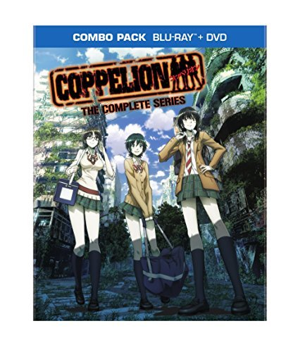 Coppelion The Complete Series Blu Ray DVD