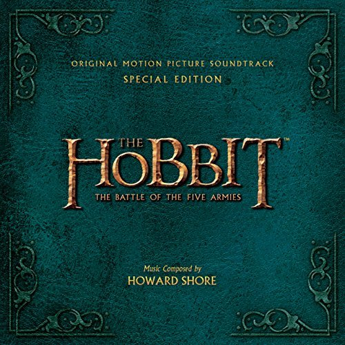 Hobbit Battle Of The Five Armies Soundtrack Howard Shore 2cd Special Edition