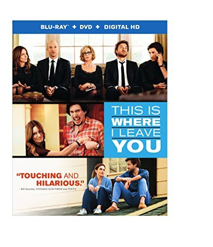 This Is Where I Leave You Bateman Fey Fonda Blu Ray DVD Uv R