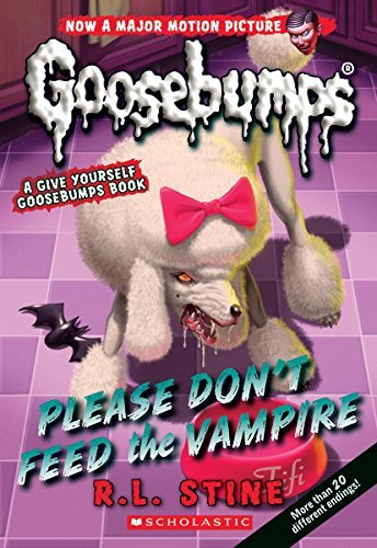 R. L. Stine Please Don't Feed The Vampire! A Give Yourself Goosebumps Book (classic Goosebum