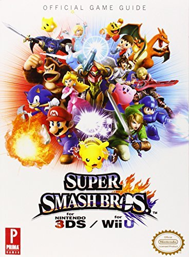 Nintendo Super Smash Bros. Wiiu 3ds Prima Official Game Guide