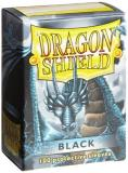 Card Sleeves Dragon Shield Black 100 Ct. Standard Size