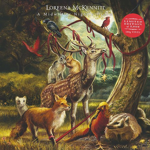 Loreena Mckennitt Midwinter Nights Lp