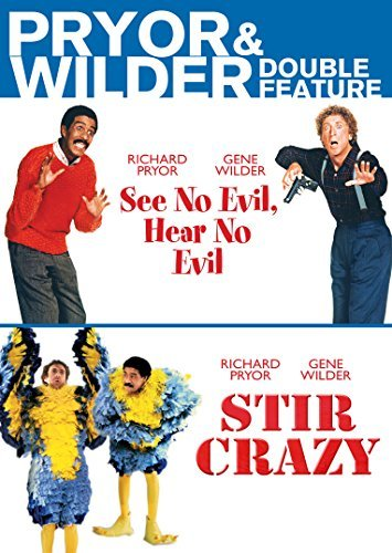 See No Evil Hear No Evil Pryor & Wilder Double Feature DVD R