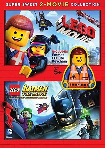 Lego Super Sweet 2 Movie Collection Lego Movie Lego Batman DVD Pg