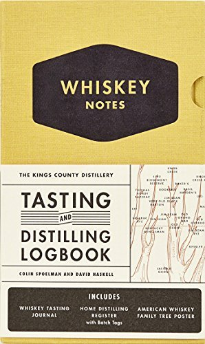 Colin Spoelman The Kings County Distillery Whiskey Notes Tasting And Distilling Logbook