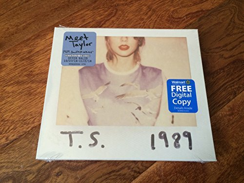 Taylor Swift 1989 Cd+digital Copy 2014 Walmart Exclusive Walmart Exclusive