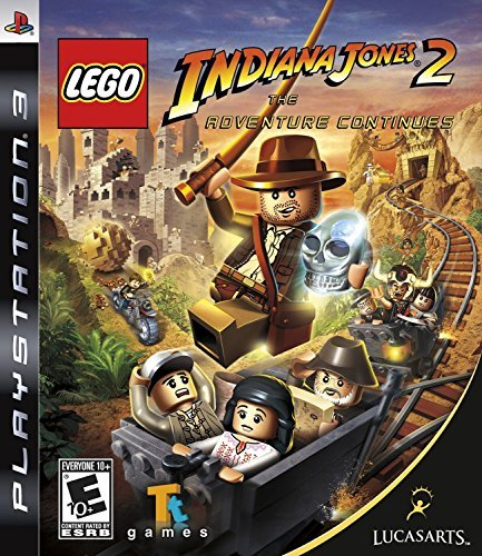 Ps3 Lego Indiana Jones 2 The Adventure Continues