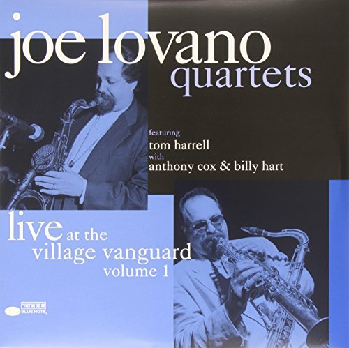 Joe Lovano Quartets Live At The Village Vanguard Volume 1 2lp