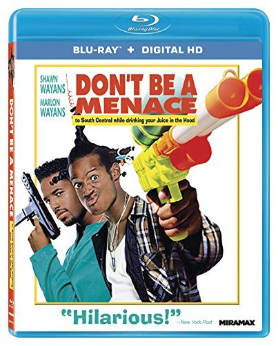 Don't Be A Menace To South Central While Drinking Your Juice In The Hood Wayans Wayans Blu Ray Dc R