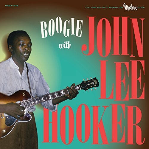 John Lee Hooker Boogie With John Lee Hooker Lp
