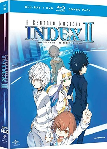 Certain Magical Index Ii Season 2 Part 2 Blu Ray DVD