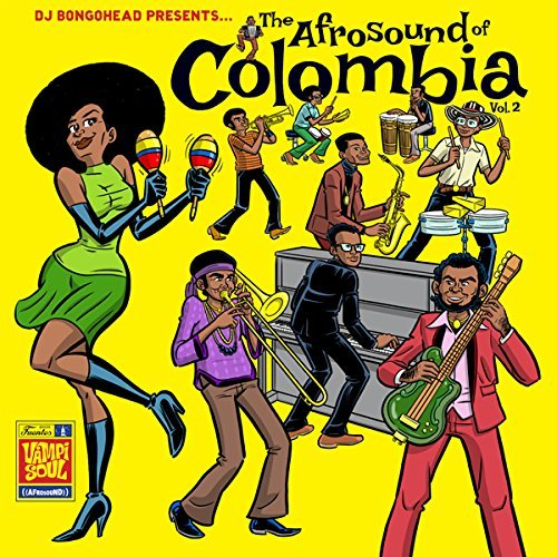 The Afrosound Of Colombia Volume 2 CD