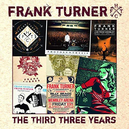 Frank Turner Third Three Years Non Album Rarities
