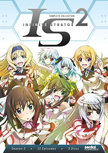 Infinite Stratos Ii Complete Collection DVD