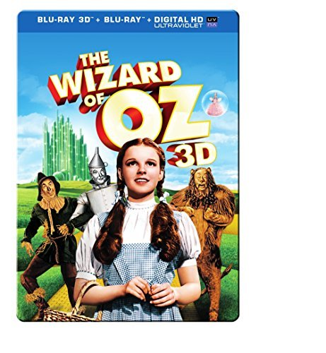 Wizard Of Oz Garland Morgan Bolger Laher 3d Blu Ray Dc 75th Anniversary Steelbook