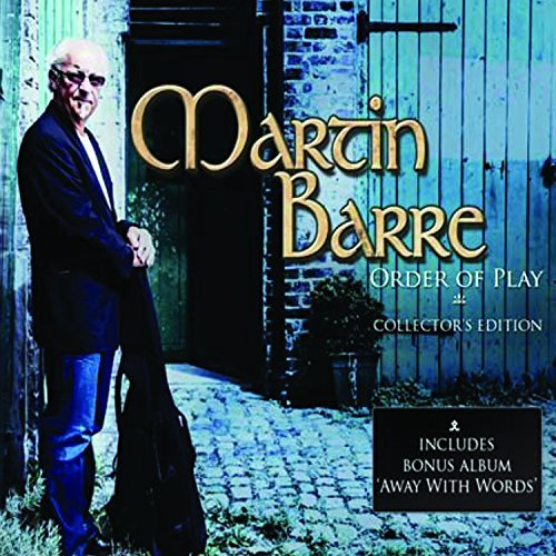 Martin Barre Order Of Play Collector's Edit