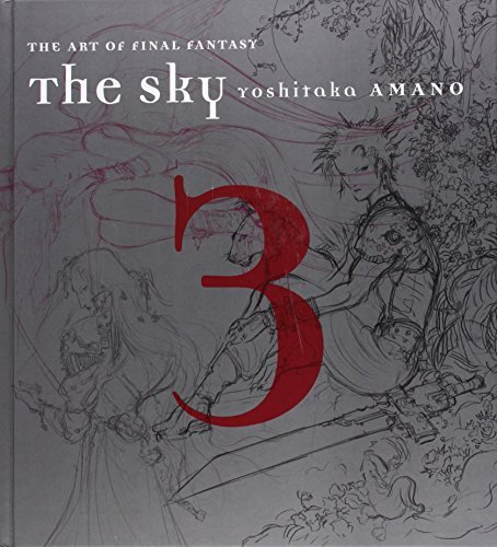 Yoshitaka Amano The Sky The Art Of Final Fantasy Book 3