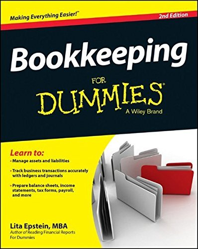 Lita Epstein Bookkeeping For Dummies 0002 Edition;revised