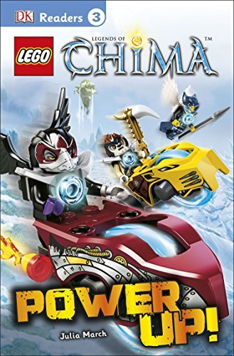 Dk Readers L3 Lego Legends Of Chima Power Up!