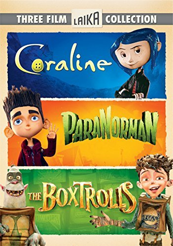 Boxtrolls Paranorman Coraline Triple Feature DVD