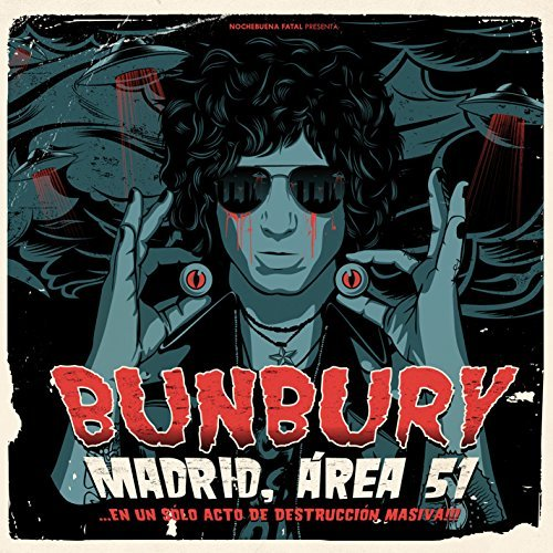 Enrique Bunbury Madrid Area 51 En Un Solo Act