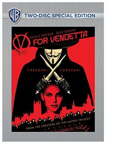 V For Vendetta Portman Weaving Hurt Graves DVD R