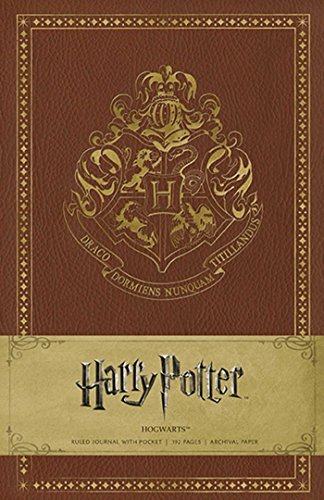 Warner Bros Consumer Products Inc Harry Potter Hogwarts Hardcover Ruled Journal