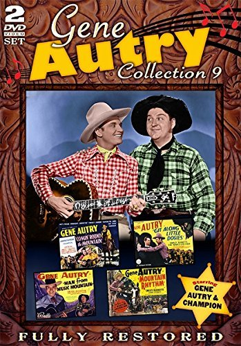 Gene Autry Movie Collection 9 DVD Movie Collection 9
