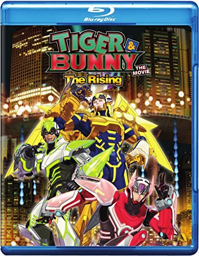 Tiger & Bunny The Movie 2 Rising Tiger & Bunny The Movie 2 Rising Blu Ray DVD