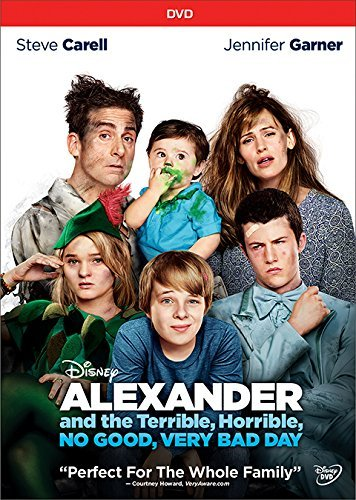 Alexander And The Terrible No Good Very Bad Day Carell Garner Oxenbould DVD Pg