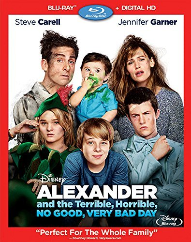 Alexander And The Terrible No Good Very Bad Day Carell Garner Oxenbould Blu Ray Dc Pg