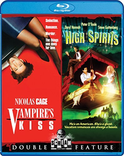 Vampire's Kiss High Spirits Double Feature Blu Ray