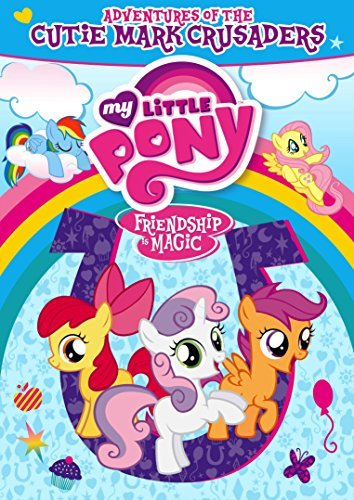 My Little Pony Friendship Is Magic Adventures Of The Cutie Mark DVD