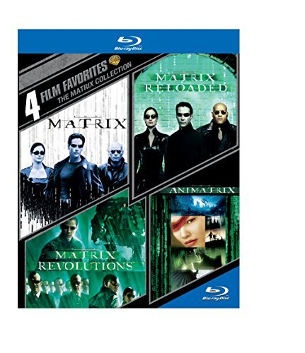 The Matrix 4 Film Favorites Blu Ray 4 Film Favorites