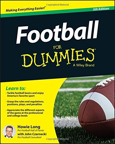 Howie Long Football For Dummies 0005 Edition;