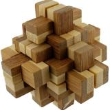 Novelty Bamboo Puzzle Asst