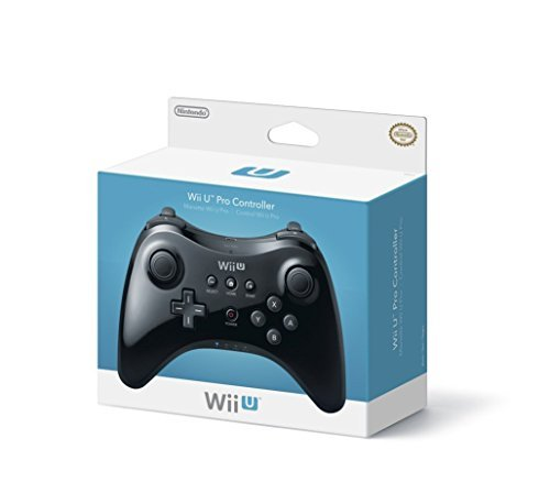 Wii Uac Pro Controller Black New Packaging