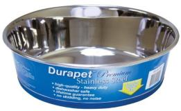 Durapet Bowl 4.5qt Durapet Stainless Steel Bowl 4.5 Quart Ea