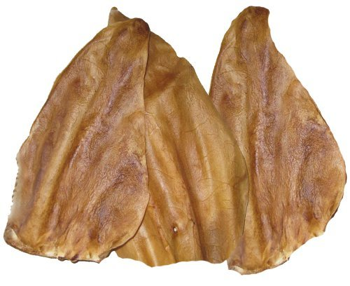 Usa Cow Ears Smoked Bulk 50ct