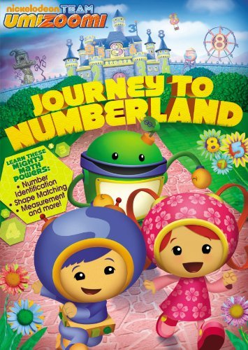 Team Umizoomi Journey To Numberland DVD