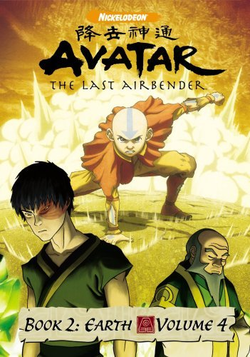 Avatar The Last Airbender Vol. 4 Book 2 Earth Nr