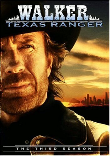 Walker Texas Ranger Season 3 DVD