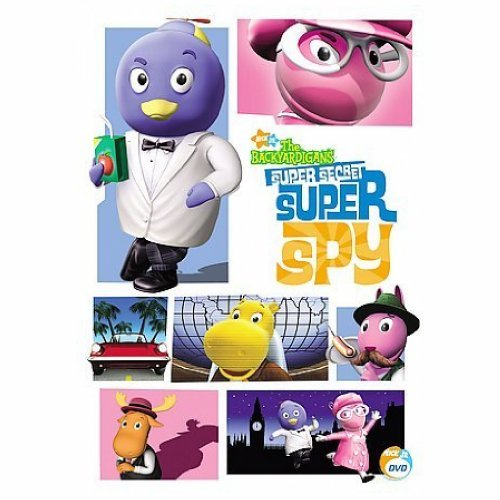 Super Secret Super Spy Backyardigans Nr