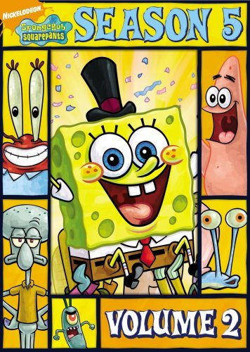 Spongebob Squarepants Vol. 2 Season 5 Nr 2 DVD