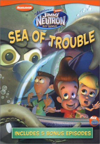 Adventures Of Jimmy Neutron Sea Of Trouble DVD Nr