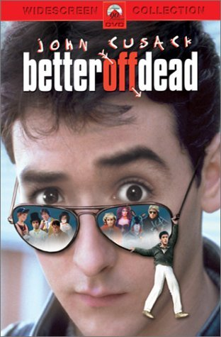 Better Off Dead (1985) Cusack Stiers Darby Slade DVD Pg Ws