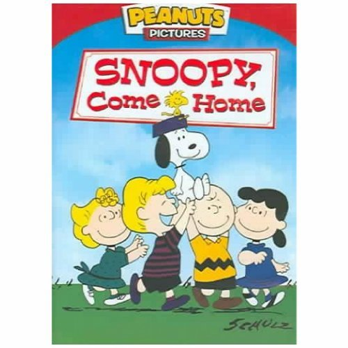 Peanuts Snoopy Come Home DVD G