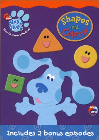 Shapes & Colors Blue's Clues Nr