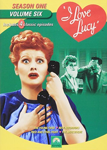 I Love Lucy I Love Lucy Vol. 6 Season One Bw Cc Spa Sub Nr
